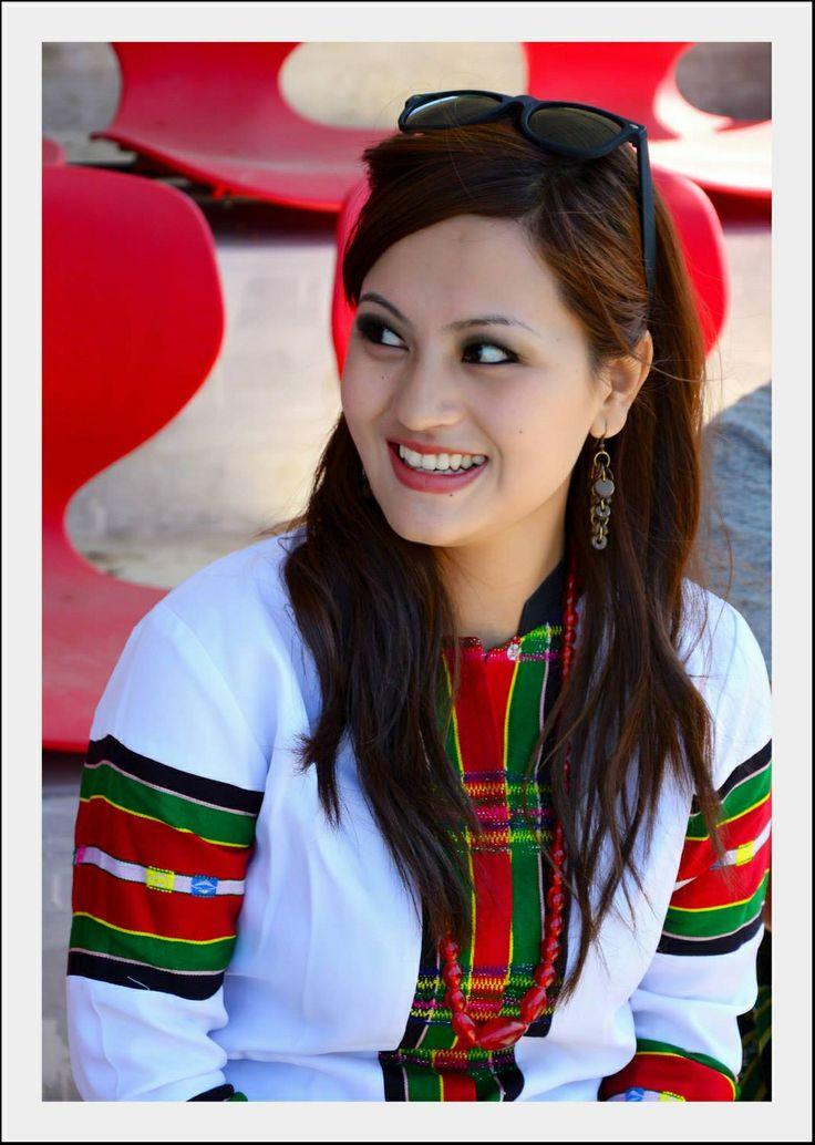 Beautiful Mizo Lady Mizoram India Mizo Pinterest