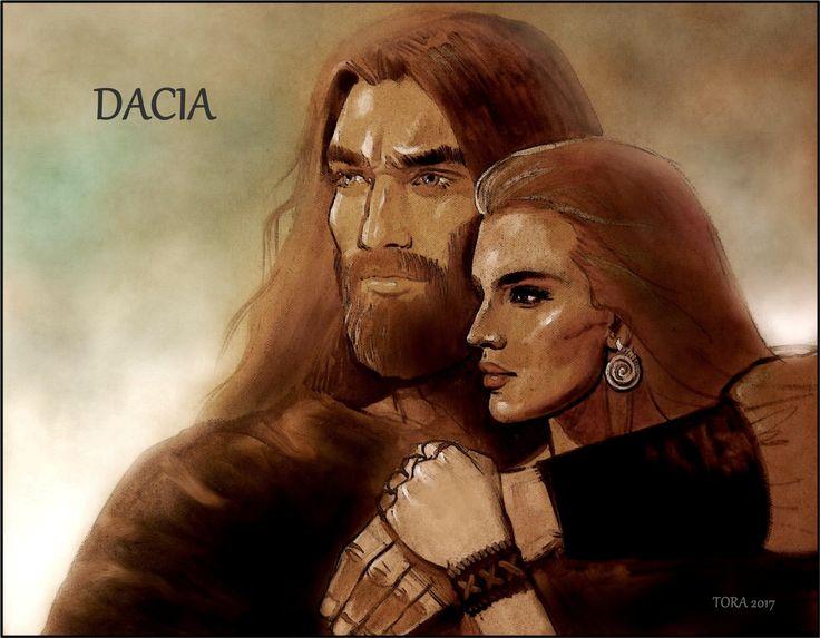 Dacii- Dragobete- un tablou inca in lucru