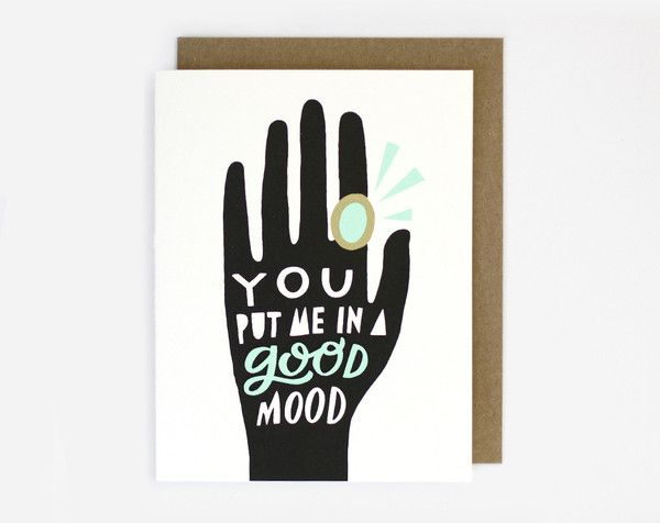 Good Mood Card by Worthwhile Paper