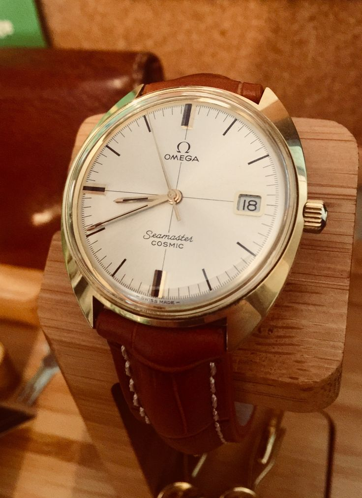 Vintage Omega Seamaster Cosmic Gold Watch