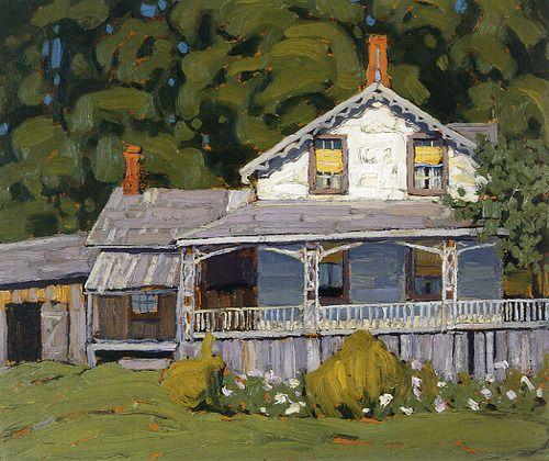 Lake Simcoe Summer c.1918  Lawren Harris, Canadian Group of Seven