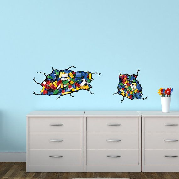 Decal inspired by Lego, Photo Lego Decal (Small Size PHOTO Lego Inspired) AP Not Associated with Lego Brand LBM