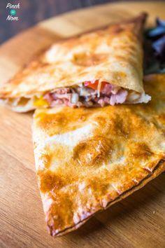 Syn Free ham and mushroom pizza calzone | Slimming World-1