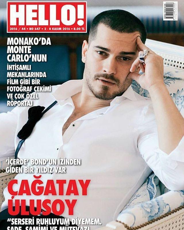 Çağatay Ulusoy   HELLO Magazine