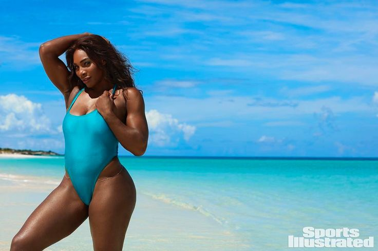 Holy Moly, Serena Williams Is A Goddess In Sports Illustrated
