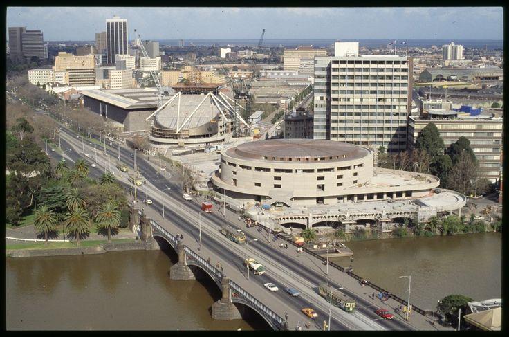 Incomplete Arts Centre 1981 - Melbourne