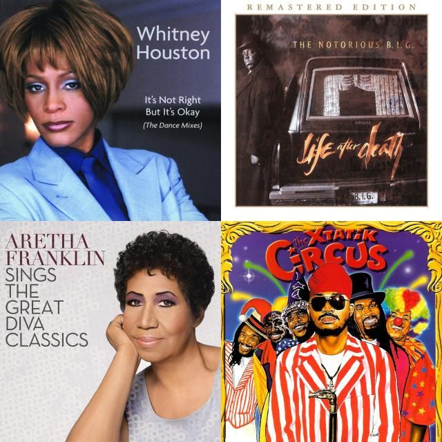 A Playlist Featuring Whitney Houston The Notorious B I G Machel
