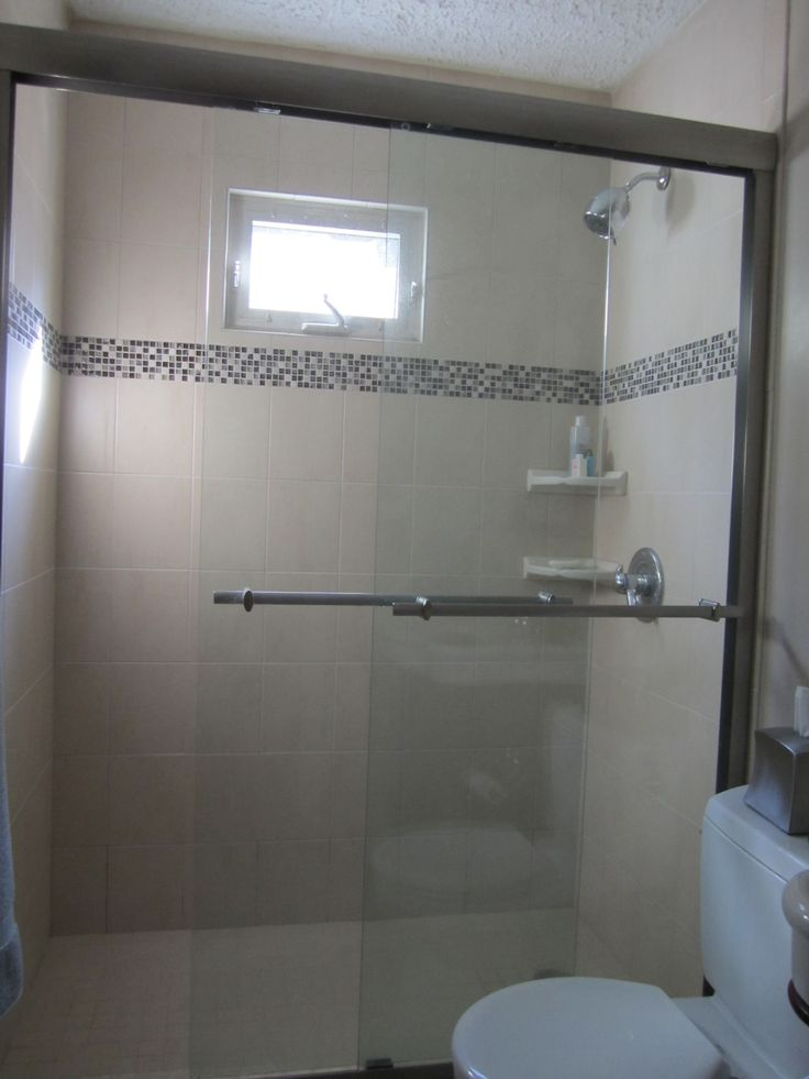 Tile Shower Wallingford Ct Homeowners Replaced Their Tub With A Walk In Shower Bathrooms