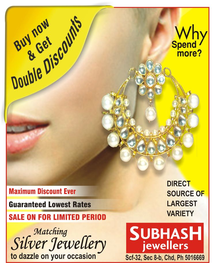 find the #best #collection for silver jewellery http://www.subhashjeweller.com