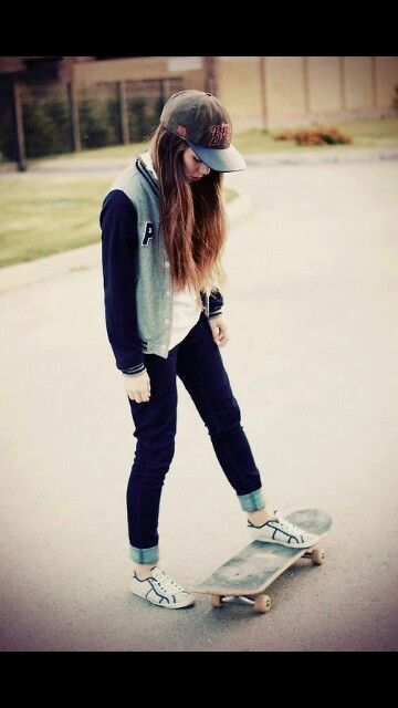 3 Ways to Be a Skater Girl - wikiHow