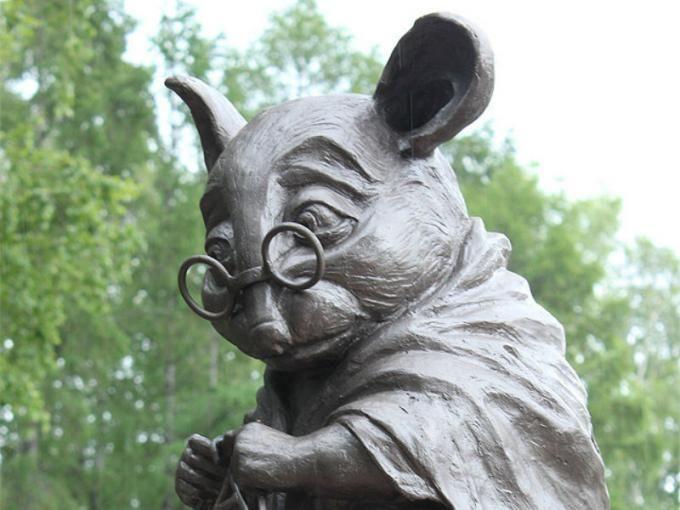 El monumento a las ratas de laboratorio