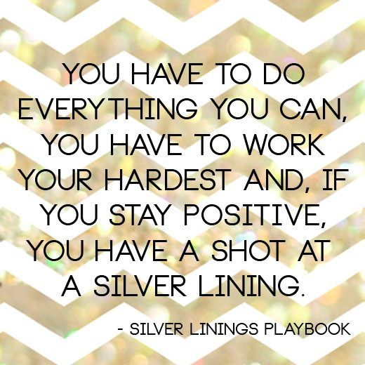 Quote of the Week: Silver Linings Playbook | Social Stylate