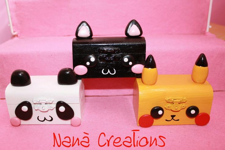 Animal box di NanaCreationsShop su Etsy