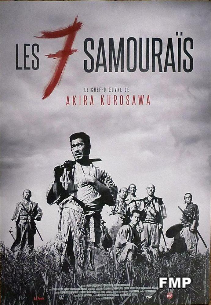Details About Seven Samourais Akira Kurosawa Mifune