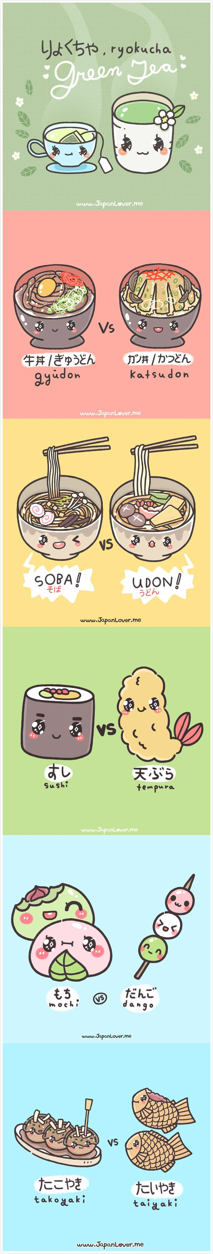 Kawaii Japanese foods.
