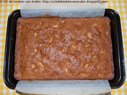 Cake met gedroogd fruit