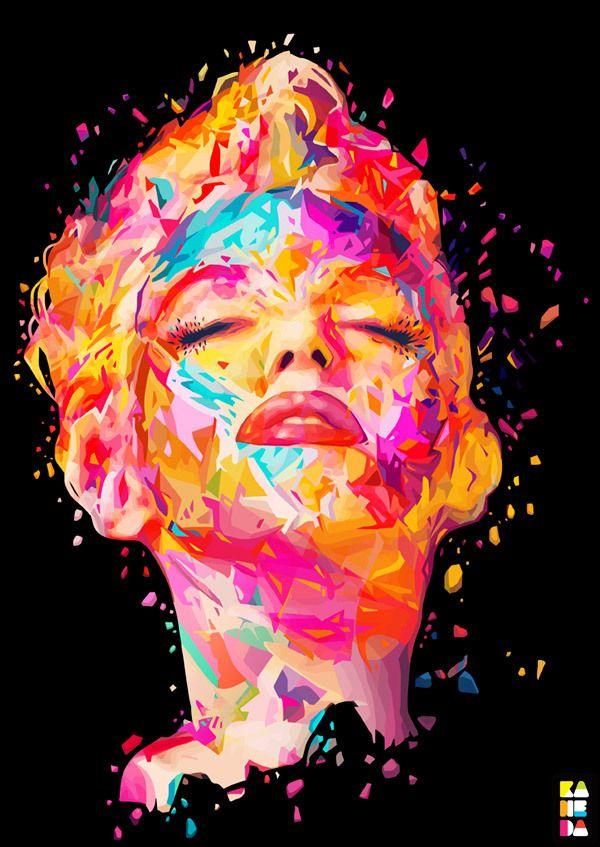 Marylin Monroe by Kaneda