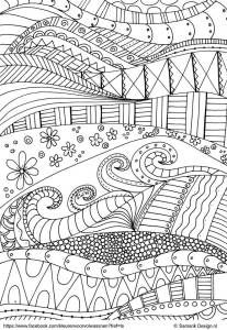 sandra name coloring pages - photo#34