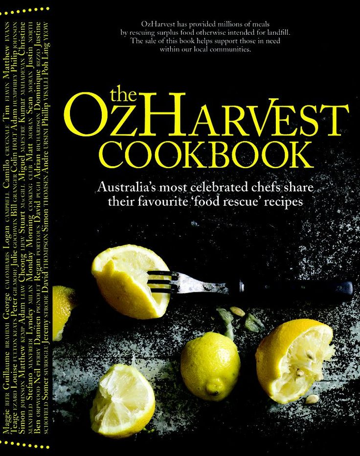 OzHarvest Cookbook - A beautiful book supporting a fantastic cause.  These folk are regulars at both our Marrickville & Orange Grove Markets and we love them