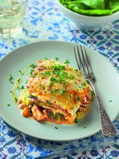 Lasagnes de chou vert frisé : Recette de Lasagnes de chou vert frisé - Marmiton