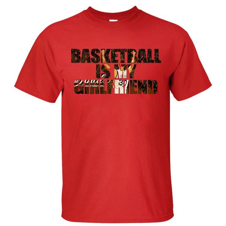 GILDAN Men's O-Neck Short Funny T Shirt 2017 Men's t-shirt Men's Basketballer Is My Girlfriend Stephen Curry  #30 T Shirt #Affiliate