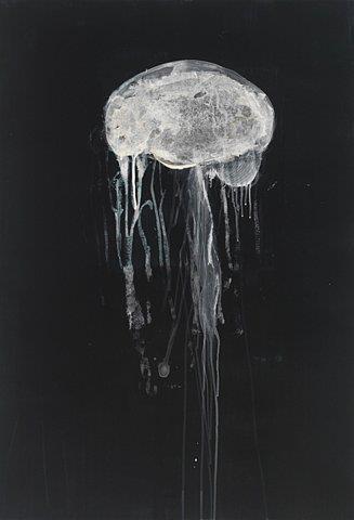 Nature simulating itself - brain and jellyfish