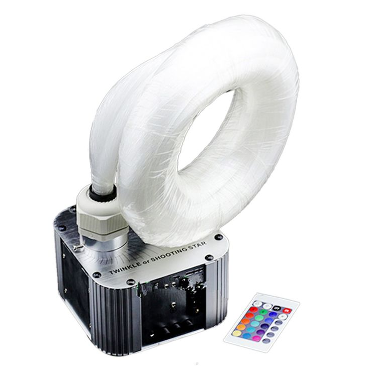0.75mm Fiber Ceiling Twinkle Star Sky Optical Light Illuminator 32W US Plug #lightilluminator