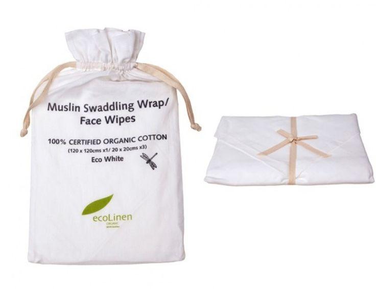Organic muslin gift set