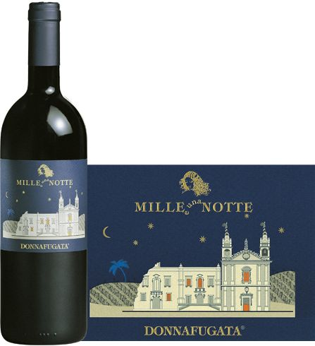 Donnafugata 2007 Mille e una Notte - A structured red wine with a remarkable personality. Complex and elegant offers on the nose a rich bouquet with balsamic scents, floral notes and spicy nuances.  +164855 SPEC