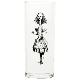 Alice in Wonderland: Because I love to drink in style...