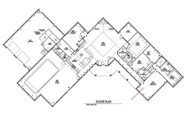 Incredible Metal Building Home w/ Inside Pool! (HQ Plans