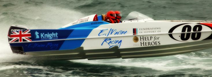 """#P1 Superstock 2016 Powerboat racing print for sale on my  #etsy shop: Help the Heroes 30 x 11"""" (76.2 cm x 27.9 cm high) Photographic print http://etsy.me/2GNWCCn #art #photography #powerboats #offshoreracing #speedboat #photograph #sea #sailing #people"""