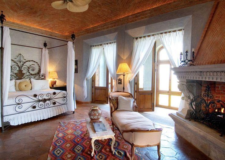 Bedroom Hacienda Pinterest San Miguel Master