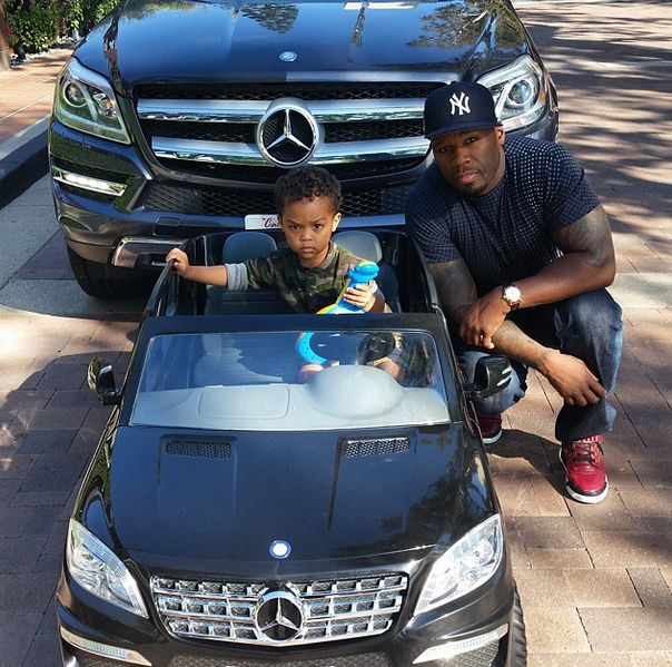 50 Cent Buys His Son Sire, AKA Lil50, a Car Worth a Lot More Than 50 Cents - http://urbangyal.com/50-cent-buys-son-sire-aka-lil50-car-worth-lot-50-cents/ #50cent