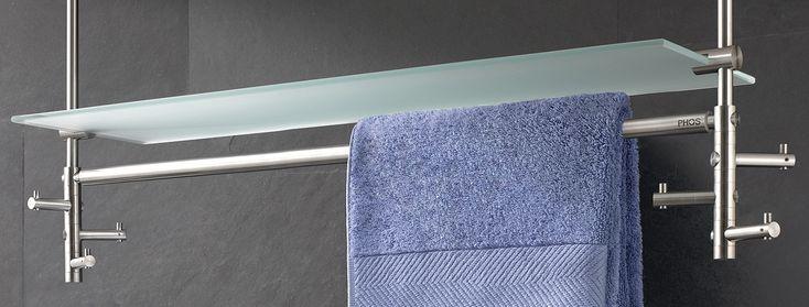 bildergebnis f r handtuchhalter mit ablage edelstahl badideen pinterest handtuchhalter. Black Bedroom Furniture Sets. Home Design Ideas