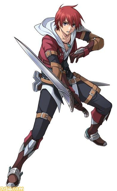 Ys Character Design : Ys adol game anime manga and graphics pinterest