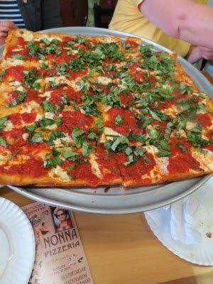 Nonna Pizzeria Margherita Pizza.  Pasadena