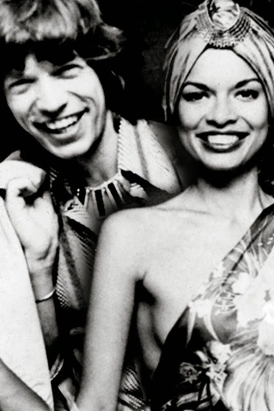 Mick Jagger and his wife Bianca /Mick Jagger y su mujer Bianca