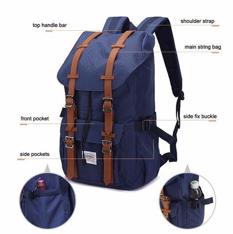 Waterproof Travel Laptop Backpack