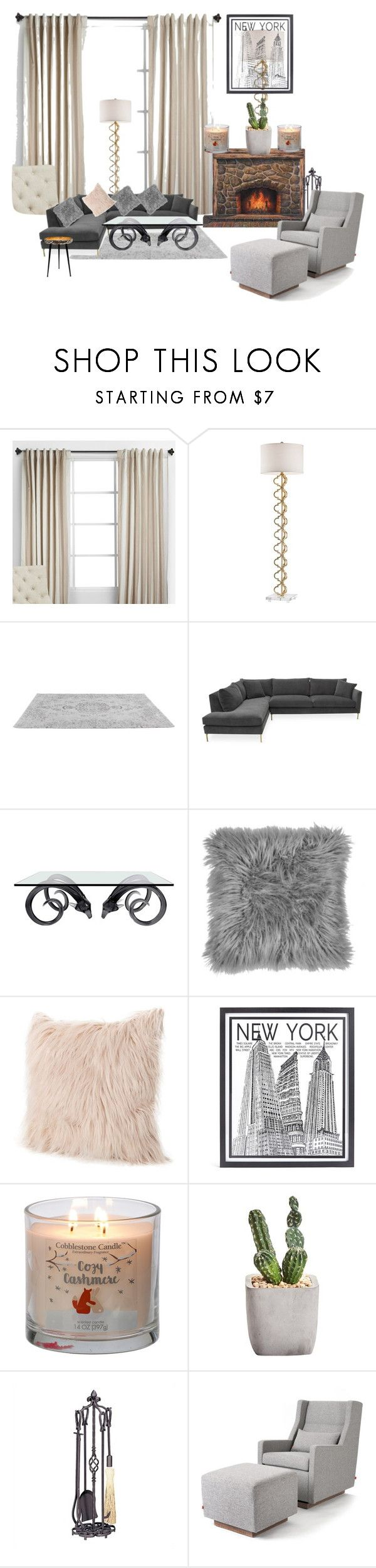 """""""Home sweet home"""" by michelle-thompson-v ❤ liked on Polyvore featuring interior, interiors, interior design, home, home decor, interior decorating, Jonathan Adler, Stephenson, Uniflame and Gus* Modern"""