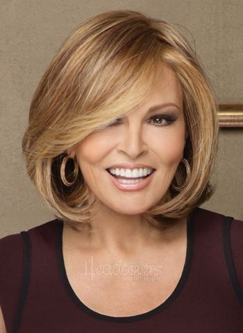 This is the best wig!  I get compliments EVERY time I wear it.  Upstage by Raquel Welch Wigs - Monofilament Wig w/ Lace Front