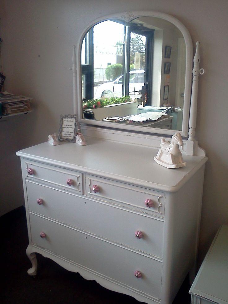 vintage dresser chest bureau bedroom vintage painted furniture