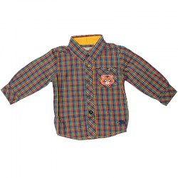Βρεφικά ρούχα για αγοράκια : Πουκάμισο ρακούν βρεφικό