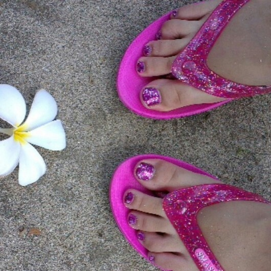 Pink Sparkling in Bali