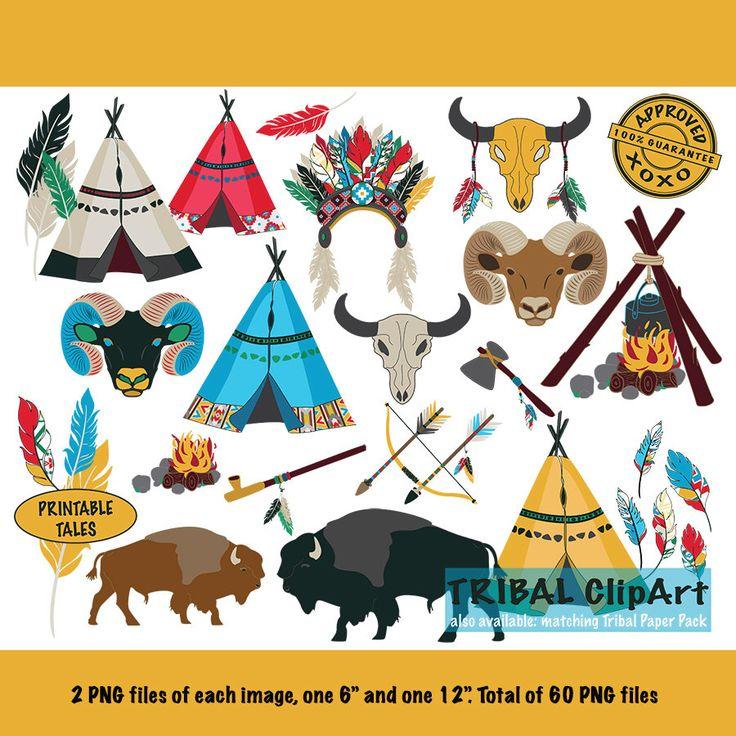 Tribal Clipart Kids | Tipi pijl Bow Buffalo Ram schedel veren kampvuur bijl Indiase hoofdtooi vredespijp Navaho Azteekse etnische Royalty Free door PrintableTales op Etsy https://www.etsy.com/nl/listing/285556453/tribal-clipart-kids-tipi-pijl-bow