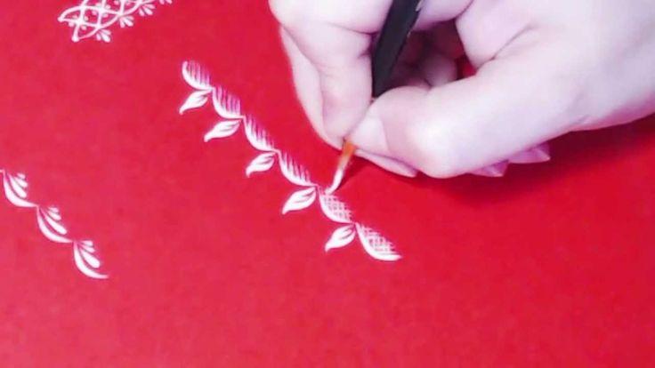 How to paint  ornament, part 5, irishkalia