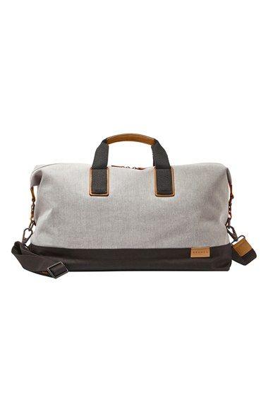 Skagen+'Riis'+Twill+Duffel+Bag+available+at+#Nordstrom