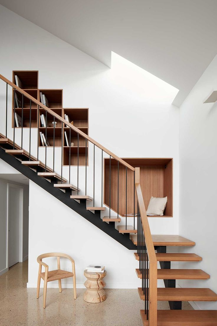 RKD Architects Kingsville House staircase