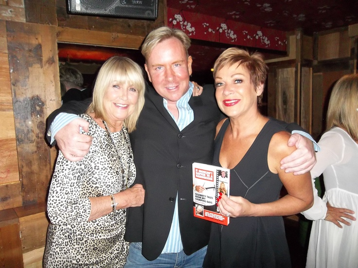 At book launch with Denise Welch and Carol Biss http://www.amazon.co.uk/It-Shouldnt-Happen-Hairdresser-Celebrity/dp/1846246318