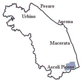 """ll comprensorio geografico nel quale si produce il Rosso Piceno Superiore, è alquanto ristretto: la zona è posta tra Ascoli Piceno e San Benedetto del Tronto. In totale sono compresi nella zona di produzione 33 comuni. Si tratta di dolci colli che dal 1977 sono percorsi da una """"strada del vino Rosso Piceno Superiore"""", che partendo da Offida, attraversa Acquaviva Picena e giunge sino a San Benedetto. Il rito della tavola, da queste parti, è stato sempre coltivato con amorevole sollecitudine…"""